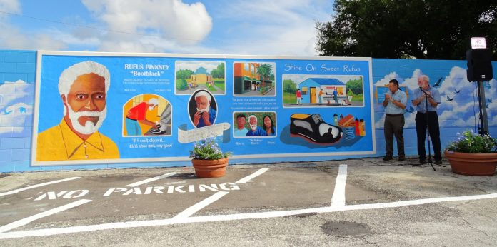 Rufus Pinkney mural unveiled