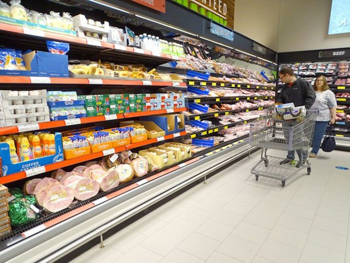 <p><p><strong>Well-stocked —</strong> Customers explore DeLand's Aldi on its first day open in the Gateway Village Shopping Center on DeLand's north side.</p></p><p>BEACON PHOTO/MARSHA MCLAUGHLIN</p>