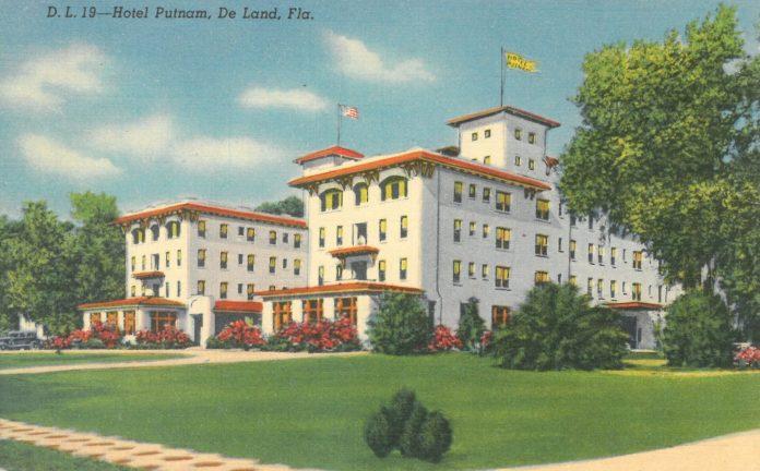 Hotel Putnam in 1930s-40s