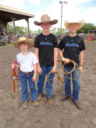 <p><p>Tucker Barry, Trevin Barry, and Keeton Clegg</p></p><p></p>