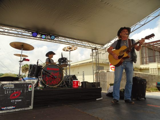 """<p><p><a href=""""https://www.facebook.com/jessedanielgroup"""" target=""""_blank"""">The Jesse Daniel Band</a> from Daytona Beach are regular performers at DeLandapalooza - from left, Jesse Daniel and Daniel Pray.</p></p><p></p>"""