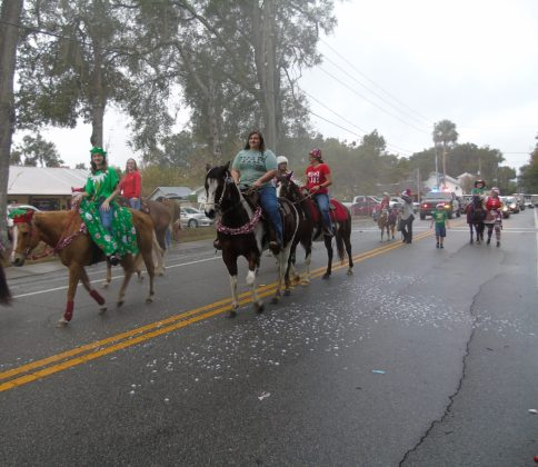 <p><p>As usual (because of the horse poop), the equines bring up the rear of the parade.</p></p><p></p>