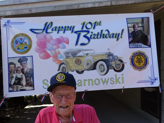 <p><p>Stanley Sarnowski turned 101 on March 16!</p></p><p></p>