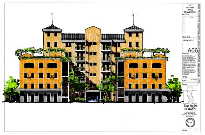 Hotel Putnam concept image