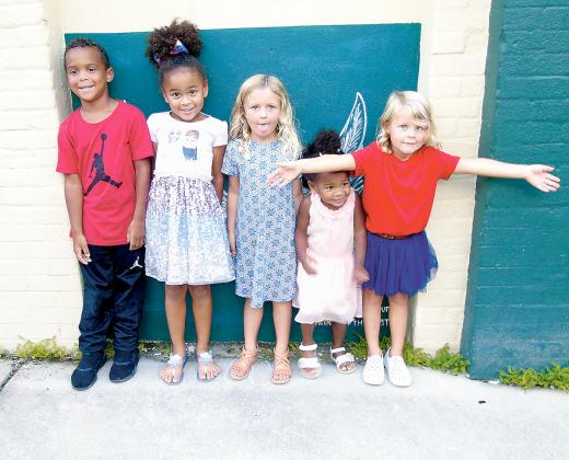 Kids at DeLand Wings