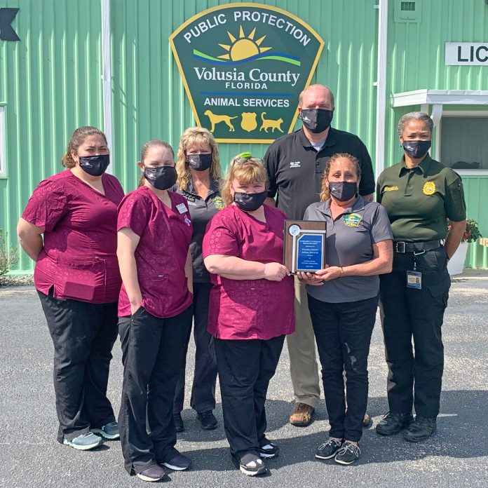 Animal Services recognized for partnership with UF