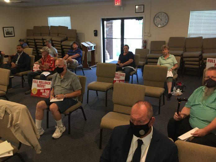 Orange City's tentative budget and tax increase pass