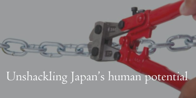 Unblocking Japan's human potential