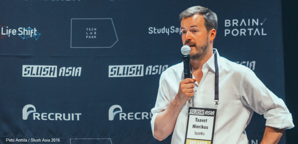 Taavet Hinrikus, CEO at TransferWise