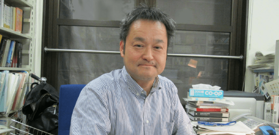 Professor Yuji Genda, labor economist at the University of Tokyo's Institute of Social Science.