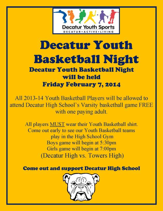 Decatur Youth Basketball Night