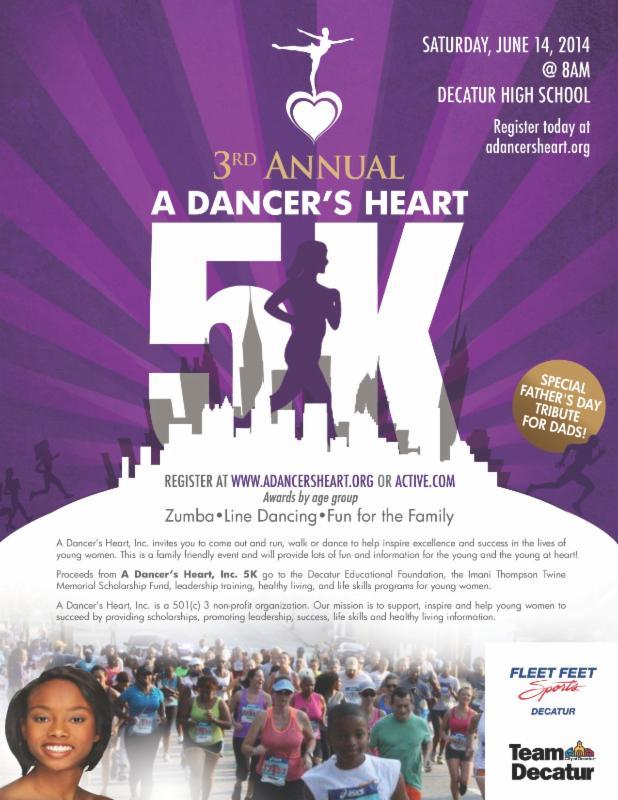 dancers heart flyer