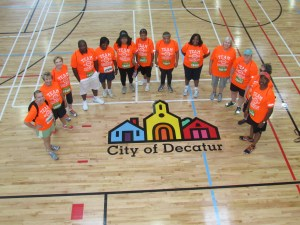 Some Team Decatur Members Ready to Go to the Event in 2013