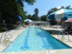 Lap lanes at McKoy Pool