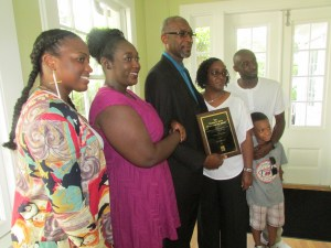 Mr. Williams With His Family