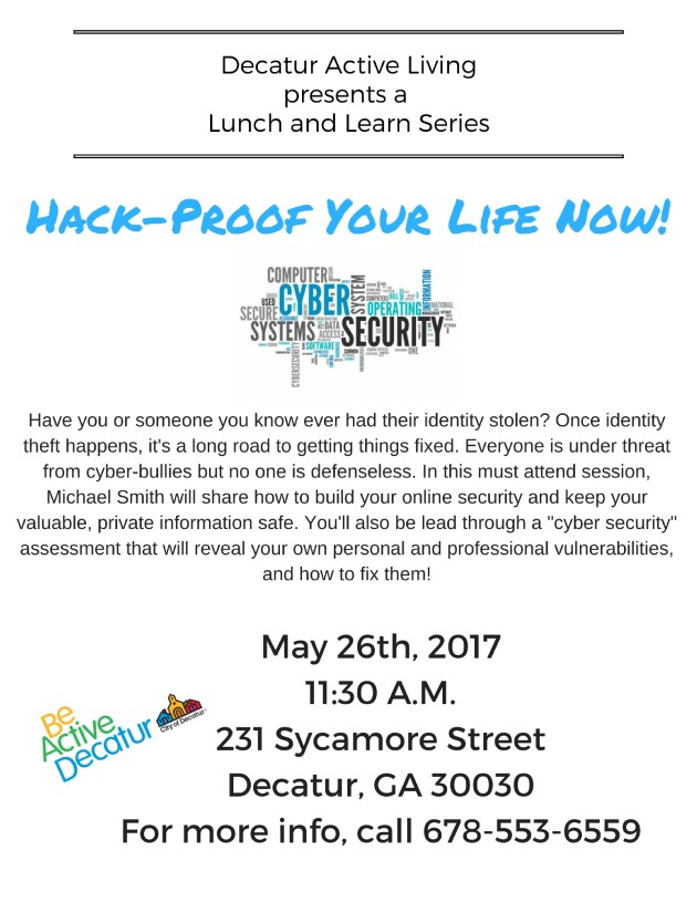 Copy of Copy of Decatur Active Livingpresents a Lunch and Learn Series