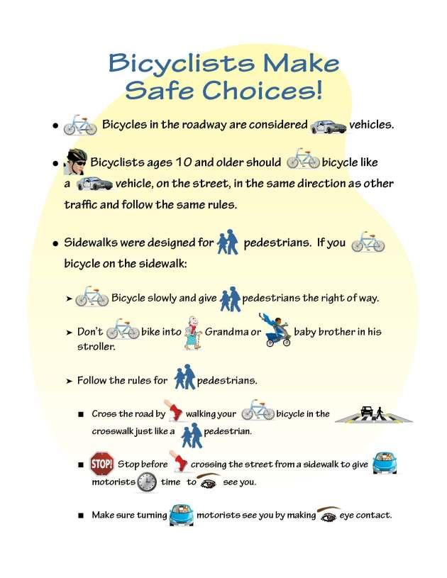 bicyclistsafechoices
