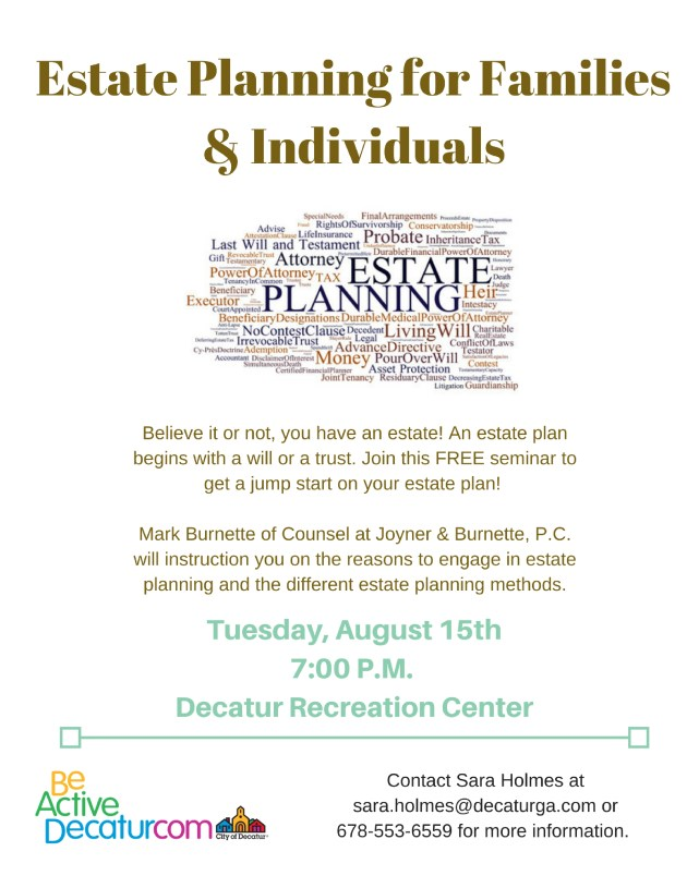 Estate Planning for Families & Individuals (1)