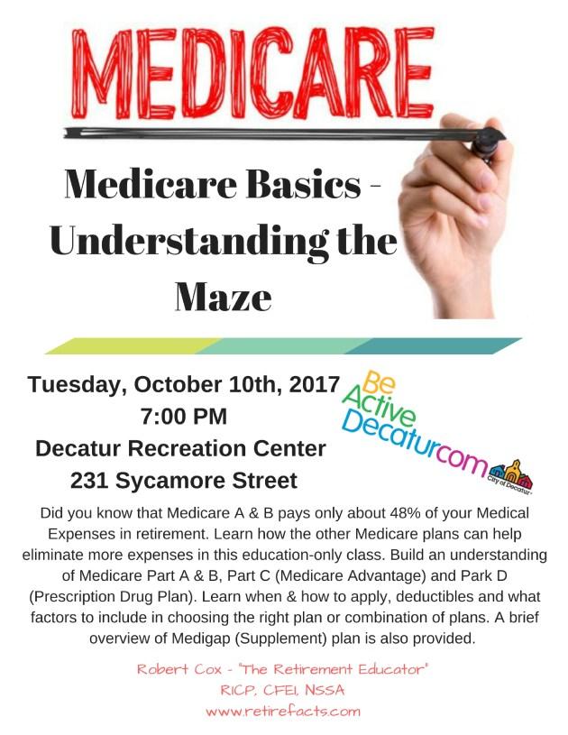 Medicare Basics -Understanding the Maze (2)