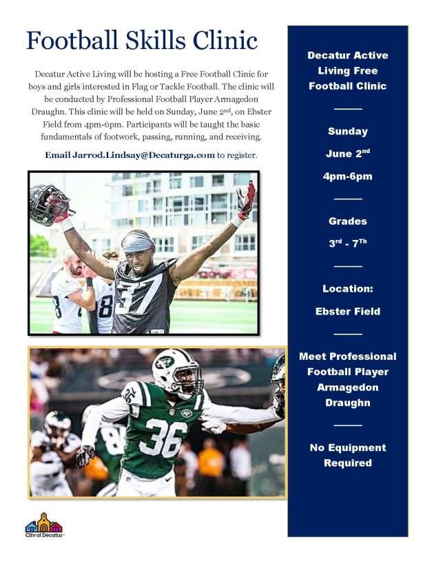 2019 Football Skills Clinic