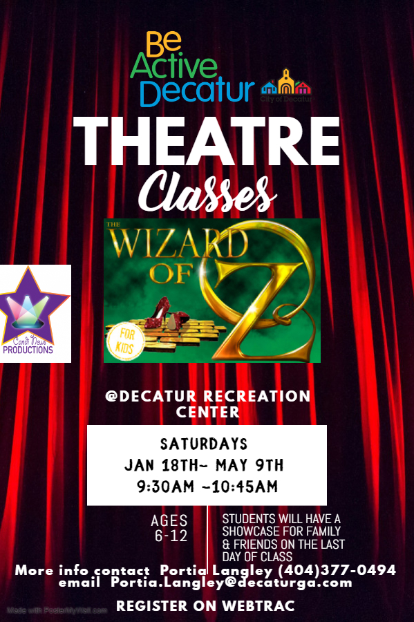 Theater class flyer Jan-May