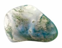 Moss Agate Gemstone Meaning & Properties