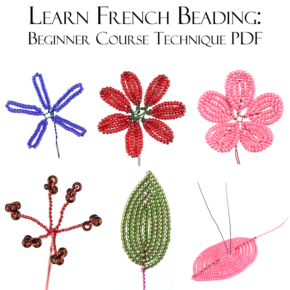 French Beading technique tutorials by Lauren Harpster