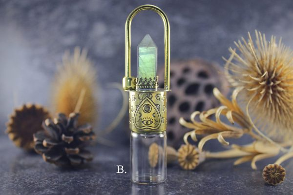 essential oil rollerball necklace