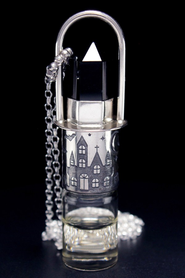 Haunted Rollerball Necklace
