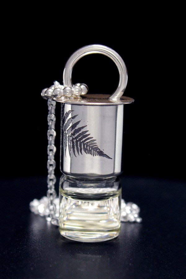Fern Mini Rollerball Necklace