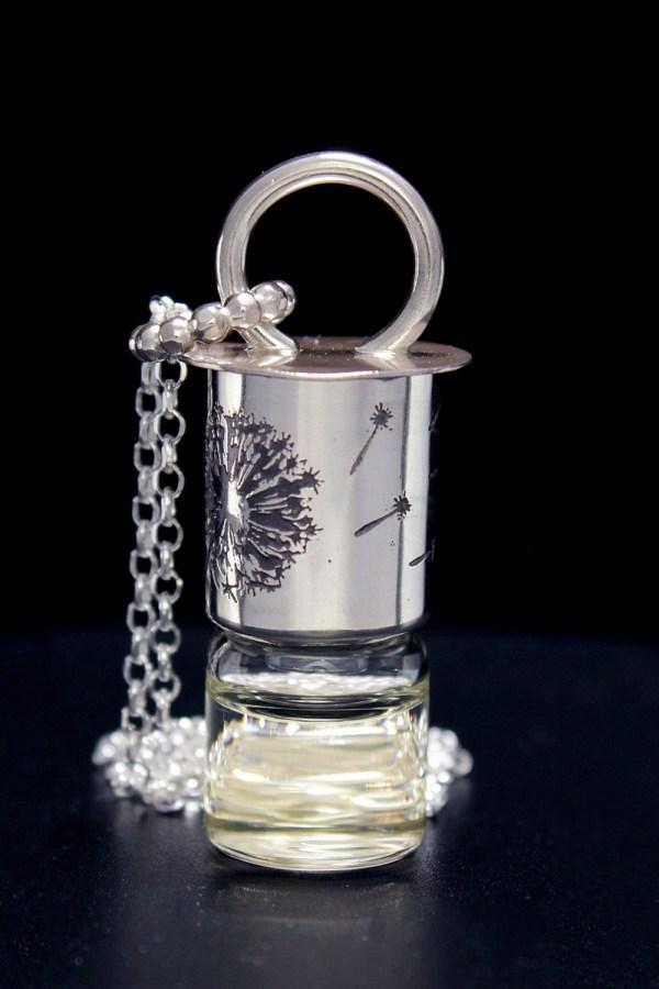Dandelion Mini Rollerball Necklace