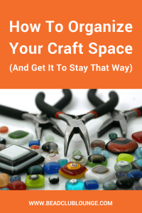 Struggling to organize your craft supplies? Follow these tips to get your craft area (or room) in order and make it stay that way!