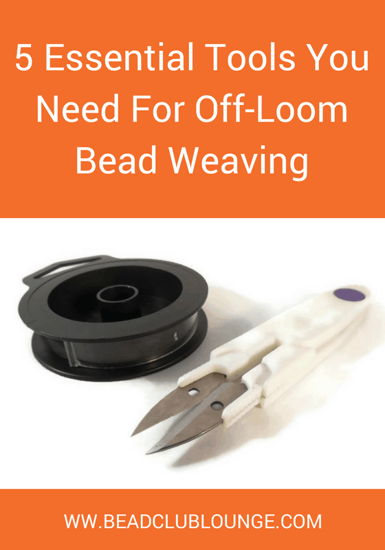 As a beginner, it's difficult to know what exactly you need when you start bead weaving. Use this guide of five essential tools to get you started.