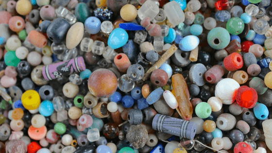 Break down your unfinished beading projects and reuse the beads to make more beaded jewelry.