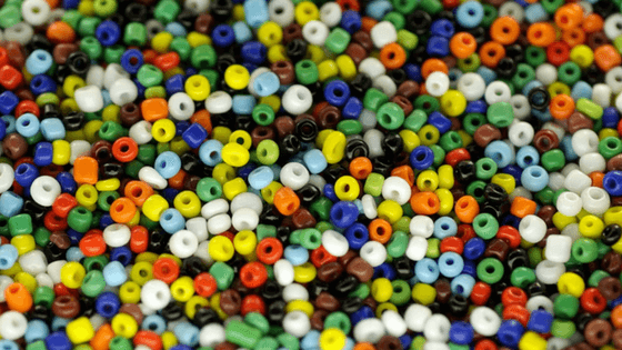 Seed beads- Sticking to the list of required materials given in beading patterns makes it easier to follow them.