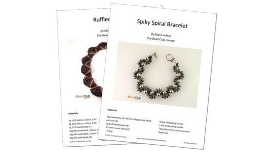 Save money on beading patterns when beading on a budget.
