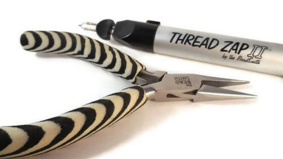 Splurge on beading tools even when beading on a budget.