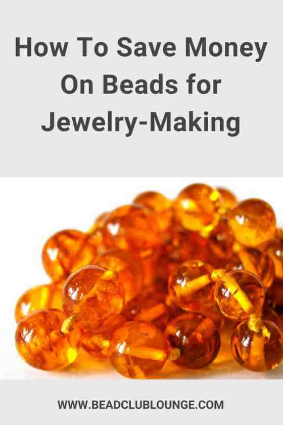 You can't DIY beaded earrings, bracelets, necklaces or other bead-weaving projects without beads. So, if you want to learn how to save money on beads for jewelry-making, here's a list of simple tips to do just that. #beading #beadwork #jewelrymaking #beadweaving