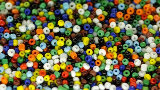 Buy in bulk to save money on beads for jewelry-making.