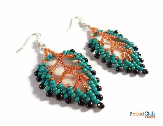 Free St Petersburg Leaf Earring Pattern