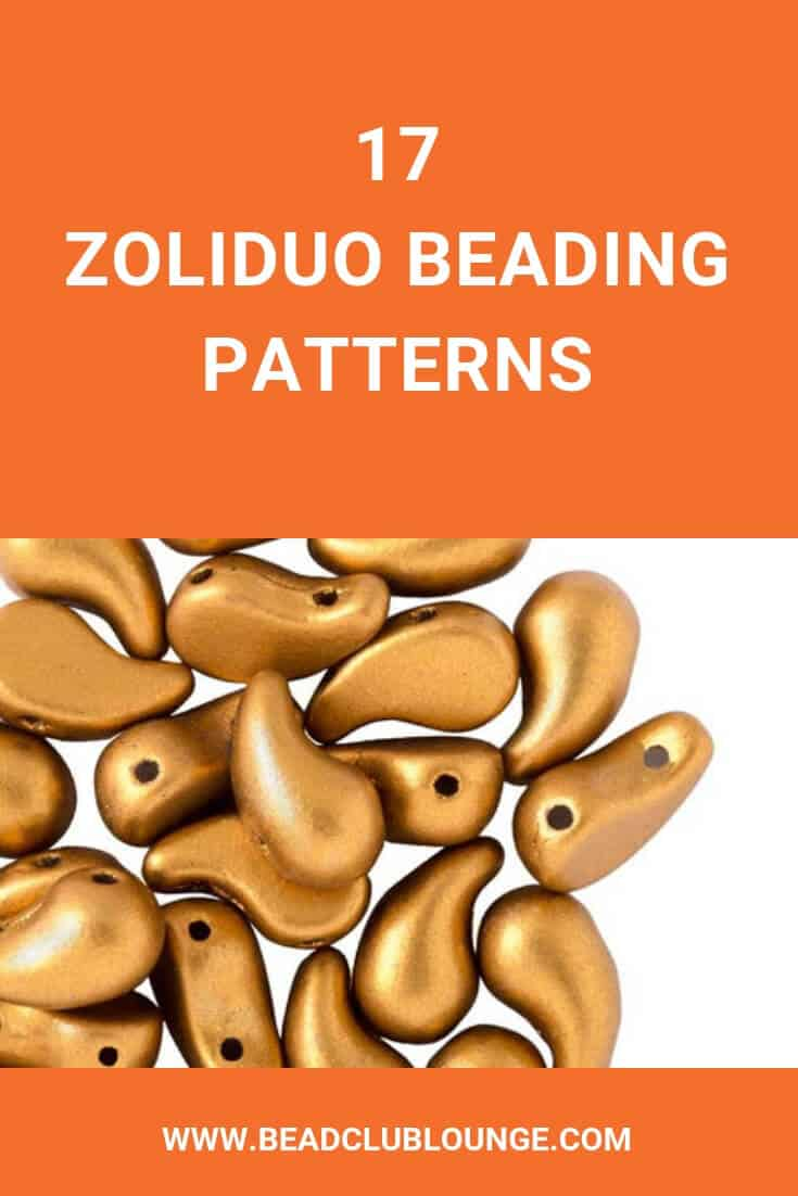 Discover 17 stunning free beading patterns using ZoliDuo beads. All of the tutorials are YouTube videos so you can see step-by-step how to create these beaded jewelry designs. The tutorials are simple enough for beginners and include everything from beaded earrings to bracelets to necklaces and more. If you love bead weaving, you'll enjoy this list of bead stitching videos. #beads #beading #beadwork #jewelrymaking #jewelrytutorial