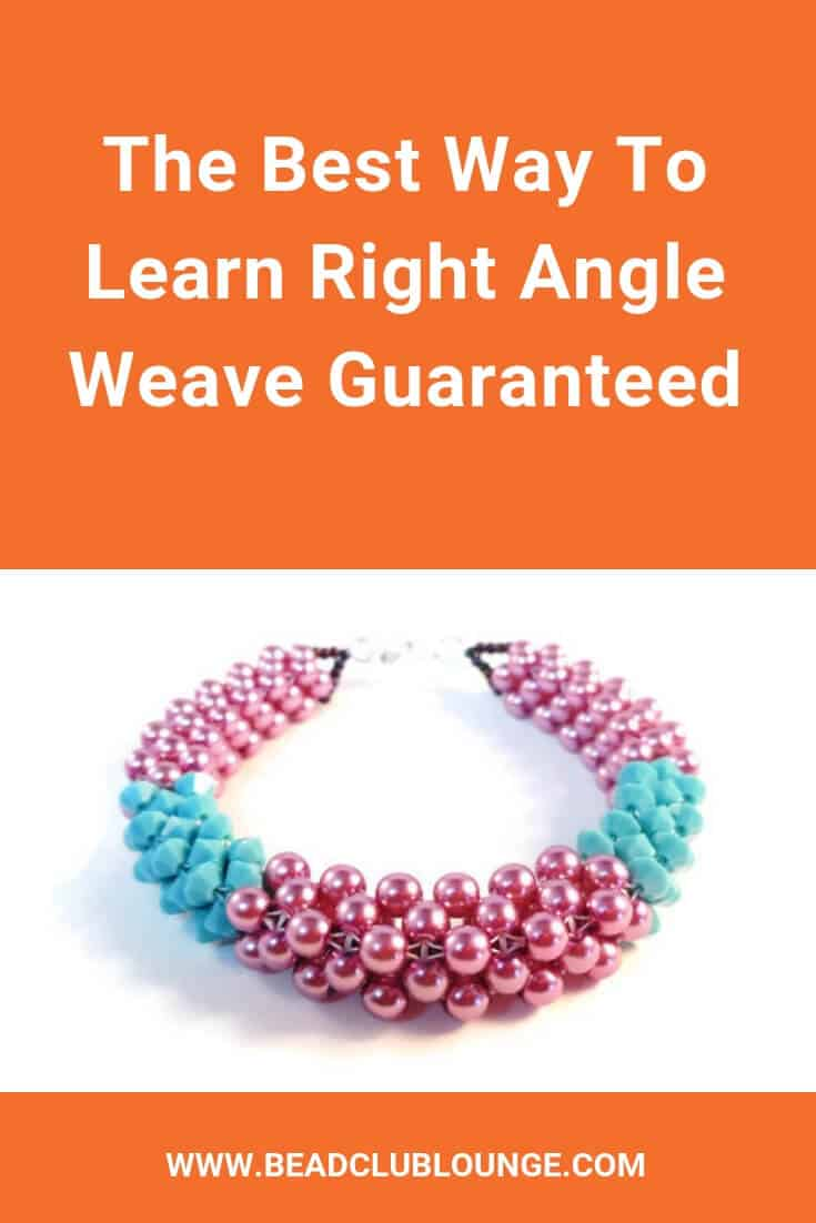 Ready to master Right Angle Weave? This online course teaches you basic single needle, crossweaving or two needle, tubular and cubic right angle weave with simple, step-by-step tutorials. Plus, you'll learn how to make a beaded bezel that can be used as a pendant. All of the projects include videos plus PDF bead patterns with pictures. So, if you want to make beautiful handmade jewelry like bracelets, necklaces or earrings, this is the place to start. #beading #tutorial