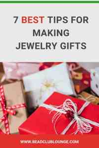 Making handmade beaded jewelry gifts for friends and family for Christmas? It's a creative way to save money. Here are some top tips to make sure that everyone loves your DIY presents this holiday season. #beading #beadwork #jewelrymaking #beadweaving #christmas #handmadejewelry