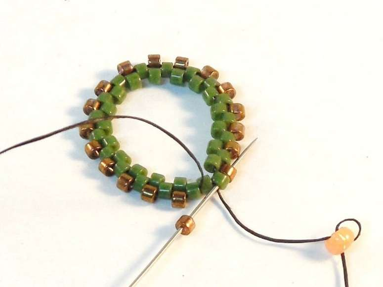 How To Make An Open Back Bezel - Easy Jewelry Tutorial - Step 3