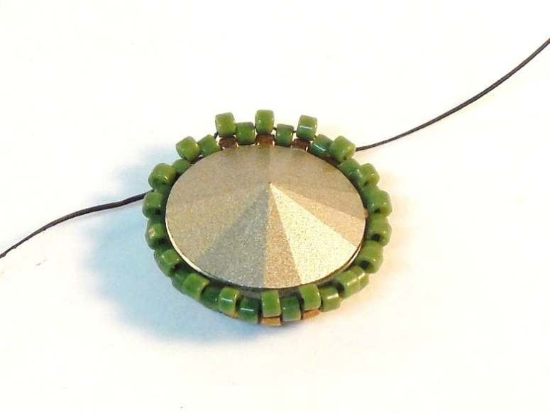 How To Make An Open Back Bezel - Easy Jewelry Tutorial - Step 8