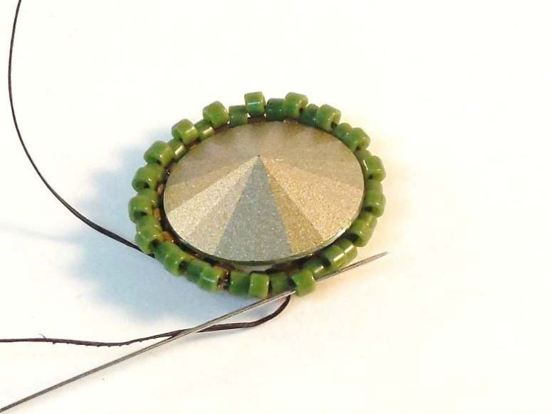 How To Make An Open Back Bezel - Easy Jewelry Tutorial - Step 9