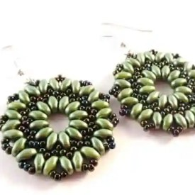 How To Create 15 Beautiful SuperDuo Earring Patterns