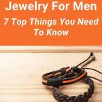 Learn how to make awesome handmade jewelry for men. Whether it's leather cuffs, unique stainless steel accessories for dad or diy bracelets made of natural stones as a Christmas gift for him, here are some simple tips to create designs guys actually want to wear. #handmadejewelryformen #tbcl