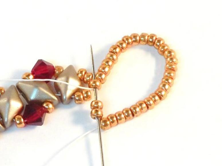 How To Make The Beautiful Crystal Bling Bracelet - Step 12