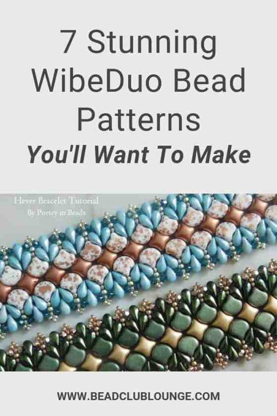 WibeDuo beads are Star-shaped two-hole Czech beads. If you have some of these in your bead stash but are at a loss for how to use them, here's a list of beading patterns you'll want to try. #beading #tbcl